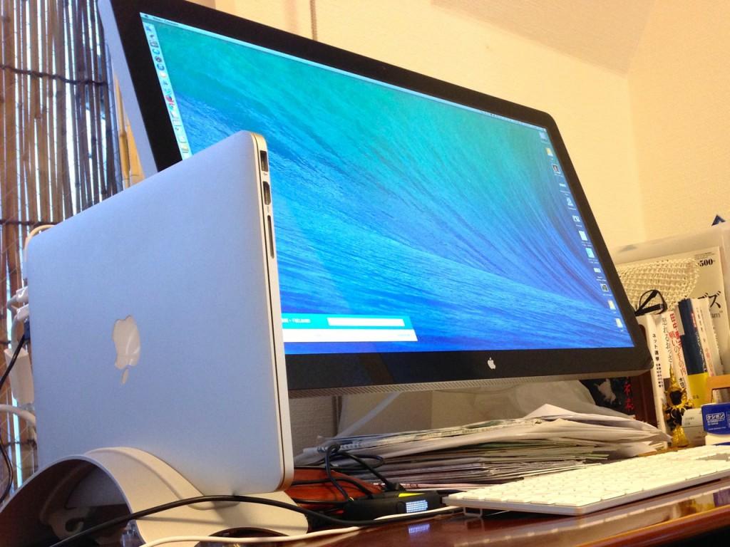 現在のマインマシンMacBookProRetina13(i7)