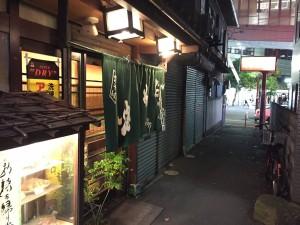池田駅前の飲み屋横丁